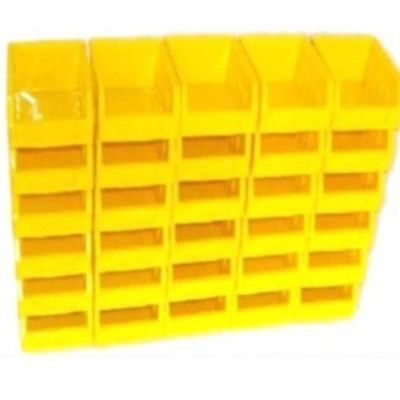 10 pièces jaune taille 1 stockage empilage bin Bacs Box