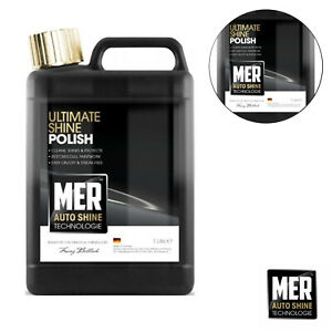 Mer NEW Ultimate Shine Car Polish Auto Technology Professional Wax 1 Litre