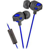 Jvc Hafr201 Blue Xtreme Xplosives Deep Bass Port Remote Mic Earbuds 5-20k Hz