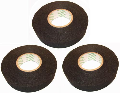 Brief 3x Certoplast 525 SE 19mm x 25m Cloth Tape Gewebeband Wickelband MwSt