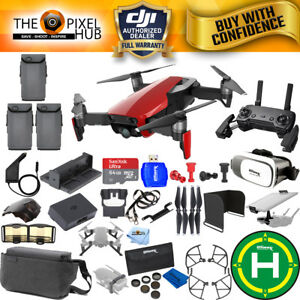DJI-Mavic-Air-Fly-More-Combo-Flame-Red-EXTREME-All-You-Need-Accessory-Kit