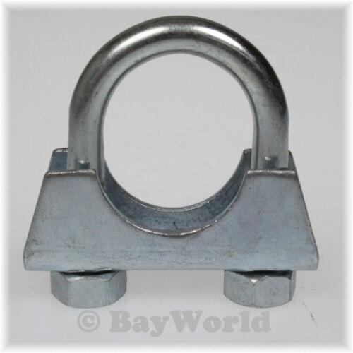 1 x BayWorld Bügelschelle M8x35 mm Auspuff Rohrschelle Flachbügel U-Bolt Clamps