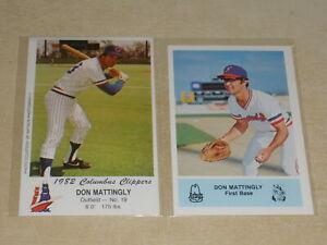 1982 DON MATTINGLY TCMA Minor League RC #21 Columbus