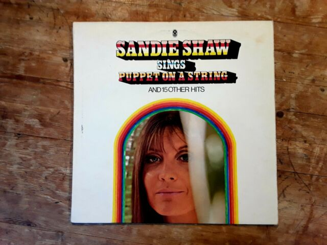 SANDIE SHAW - SINGS PUPPET ON A STRING - SIXTIES POP AND BEAT -VINYL  LP -TESTED