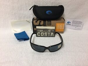 43d278d1c95 Image is loading NEW-Costa-Del-Mar-Caballito-Polarized-Sunglasses-Black-