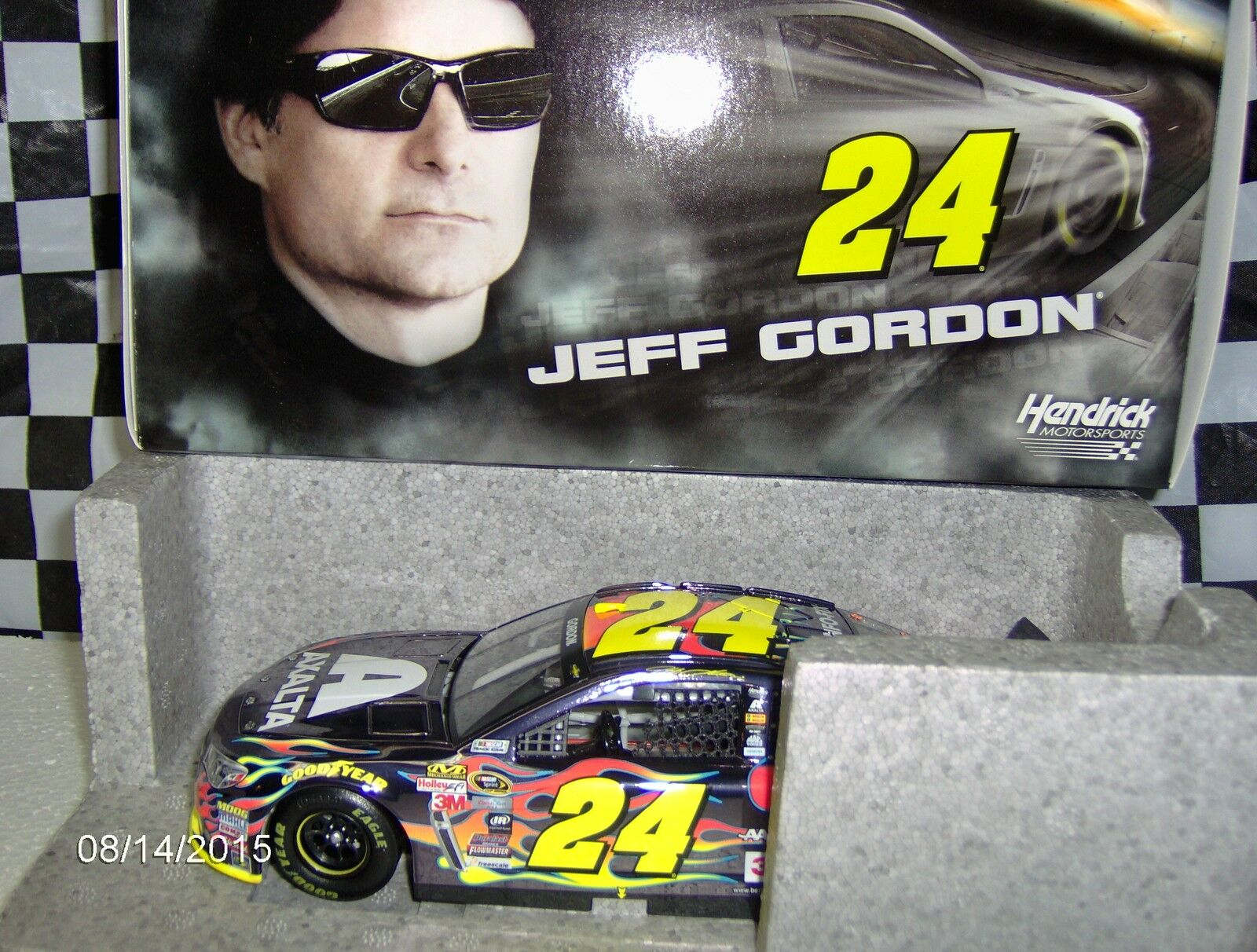 2015 Jeff Gordon Axalta Fix Auto Coloree Chrome 1 24th.