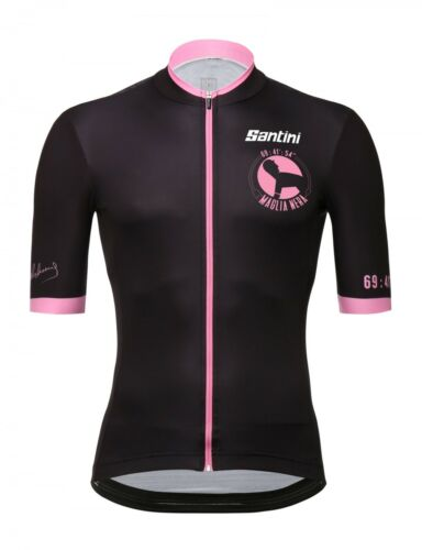2018 Maglia Nera Cycling Jersey Made in Italy by Santini