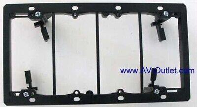 Box of 5 NEW Arlington Lv4 2477657 Low Voltage 4 Gang Mounting Bracket