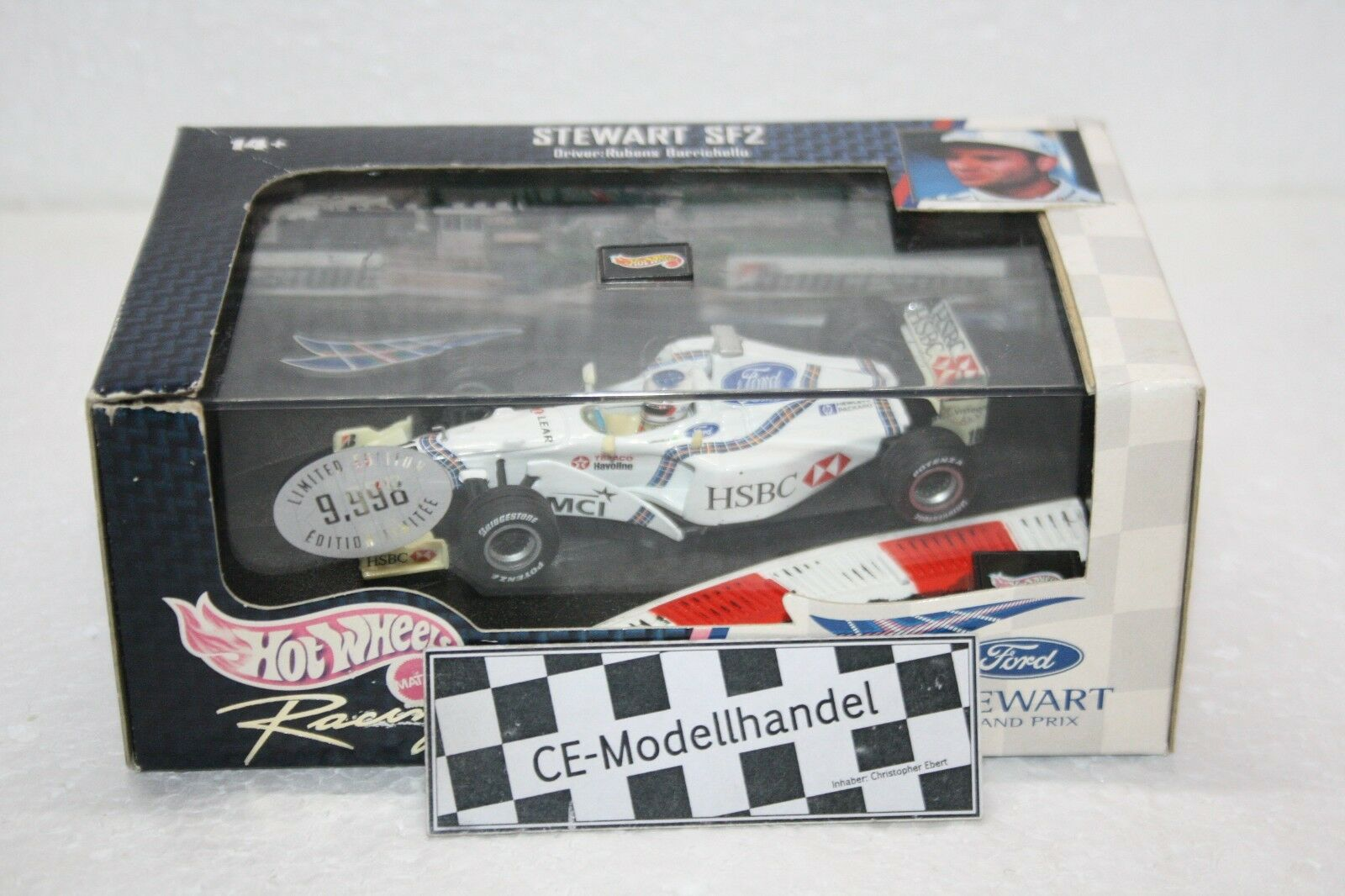 Steward SF2 R. Barrichello • 1998 • HotWheels • 1 43
