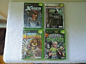 Lot-of-4-Xbox-games-Read-Info-And-See-All-Pics-For-Titles-etc