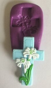 Holy-Cross-With-Flowers-Silicone-Mould-wedding-christening-communion-cupcake