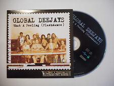 GLOBAL DEEJAYS : WHAT A FEELING ( FLASHDANCE ) ♦ CD SINGLE PORT GRATUIT ♦