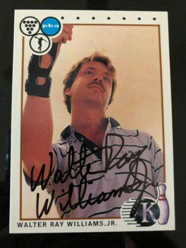 1999 dédicacé décrite Bowling cartes PBA Weber Anthony Walter Ray