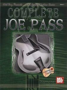 Complete Joe Pass Jazz Guitar Music Book-afficher Le Titre D'origine