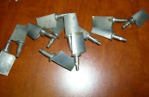Silver 10ea Ms9574-10 10-32 Thread Jet Turbine Bolt Precious Metal