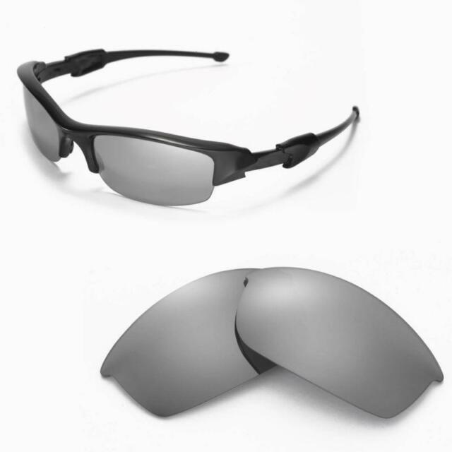 c60c9222089 WL Polarized Titanium Replacement Lenses for Oakley Flak Jacket ...