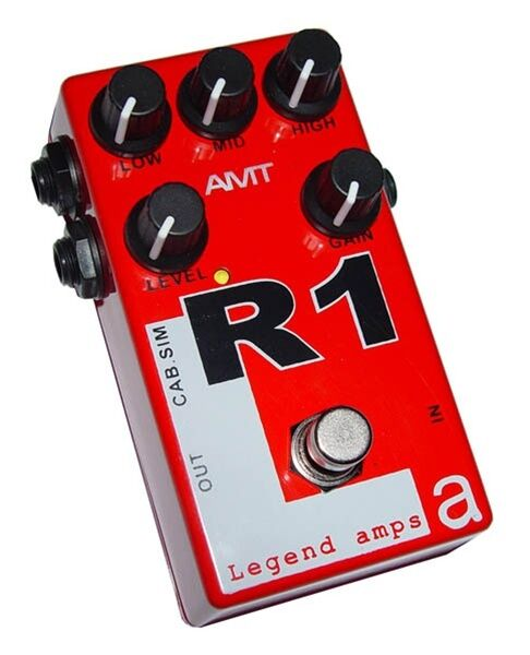 AMT Electronics R1 Guitar Overdrive Distortion Pedal