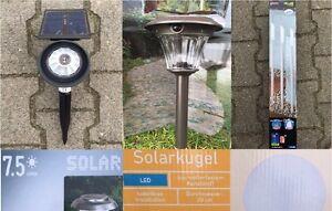 Led Solar Strahler Solar Leuchte Lampe Garten Strahler Spot Camping