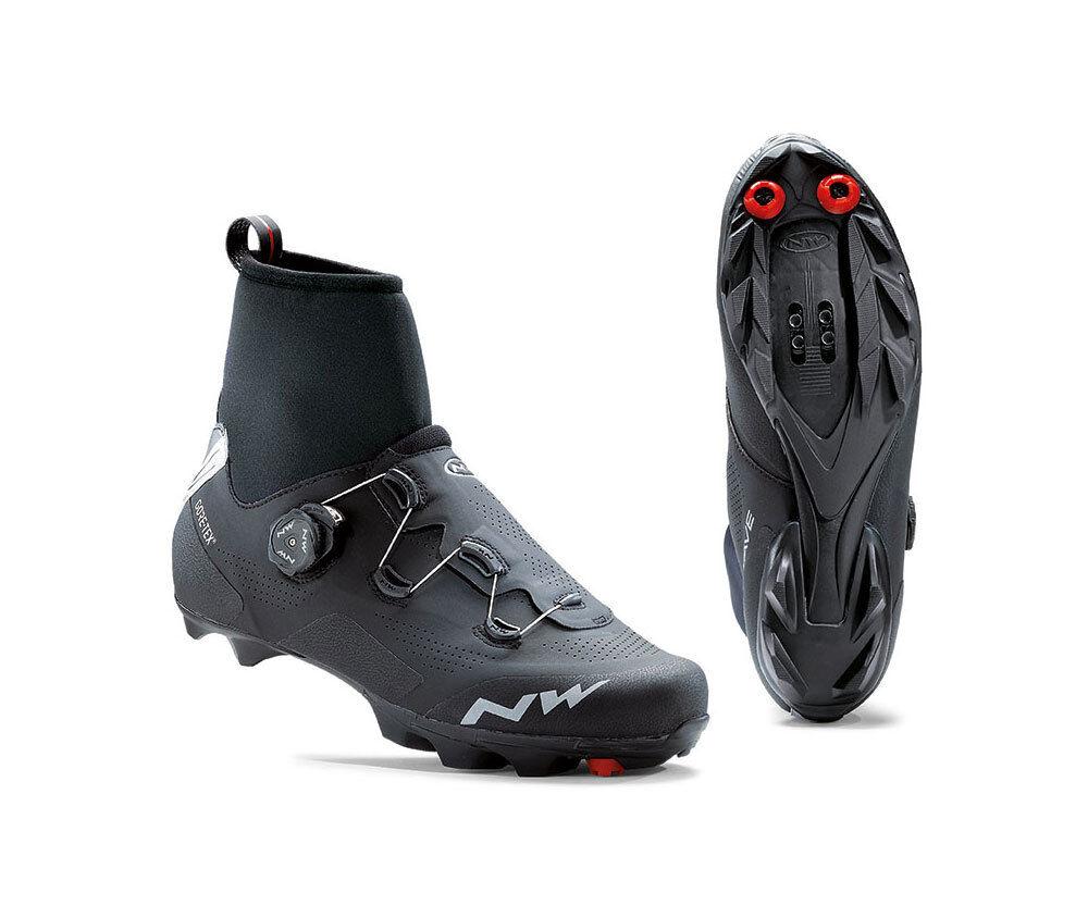 Northwave Raptor Gtx-MTB botas De Invierno-Negro