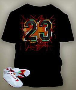 c34c92cb57d3af 23 Bunny T-shirt To match Hare Air Retro Jordan Size S-7 XL Black ...