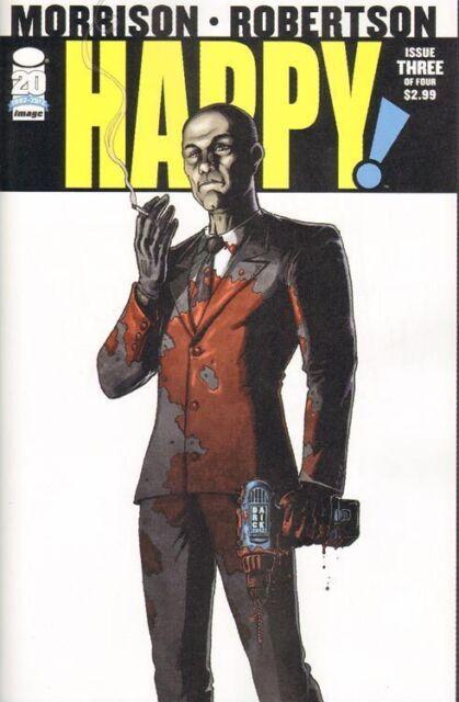 HAPPY # 2 Comic 1st PRINT ~ NM UNREAD ~ Image Comics ~ GRANT MORRISON