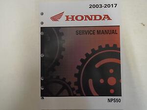 2007 2008 2009 honda nps50 ruckus service shop repair factory manual rh ebay com 2009 honda ruckus service manual pdf Honda Ruckus Specs