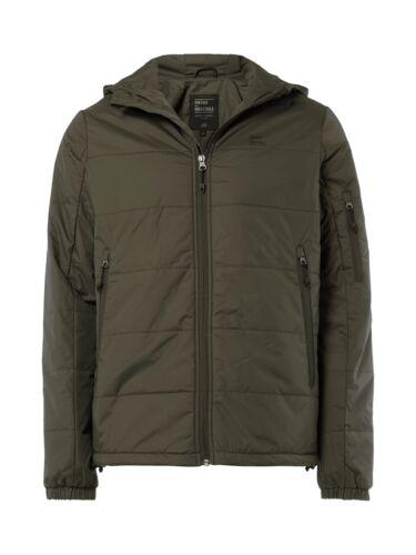 Vintage Industries chaqueta con capucha sin señores chaqueta verde oliva talla m s
