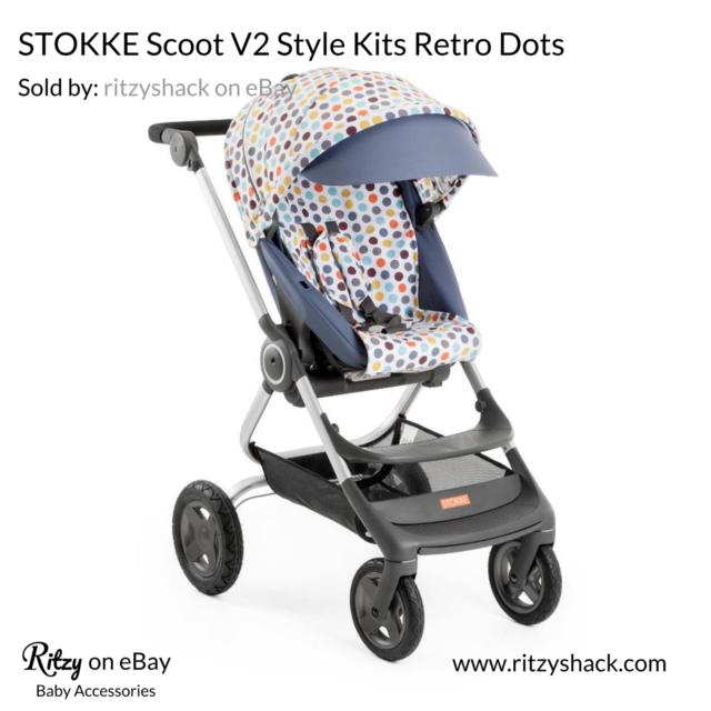 Topnotch Stokke SCOOT V2 Style Kits Retro Dots for sale online | eBay KZ-01