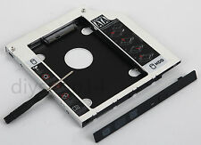 Universal 2nd HDD SSD Hard Drive Caddy Adapter Swap laptop Optical Drive DVD ODD