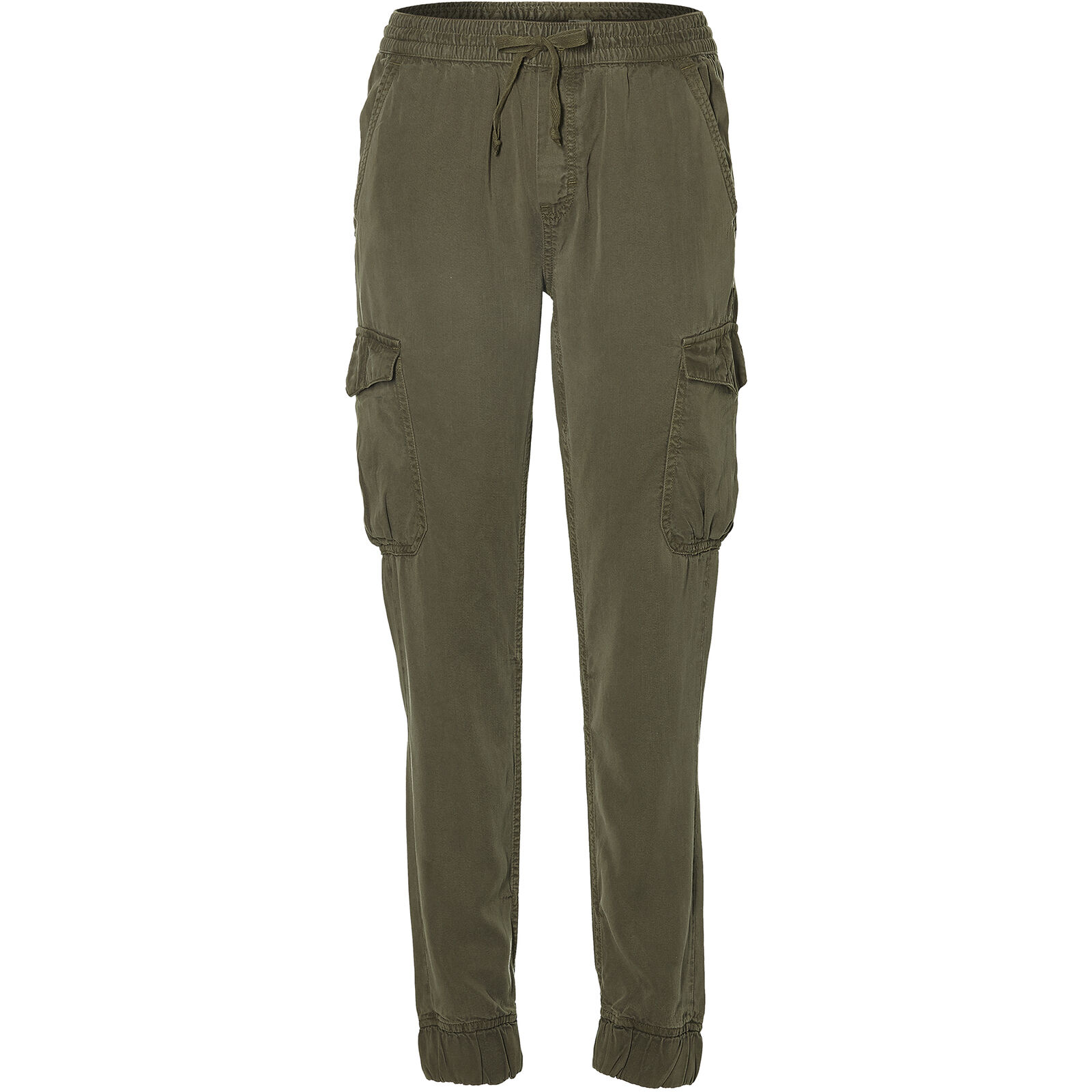 O'Neill Trousers Lw Cargo Pants Dark Green Plain