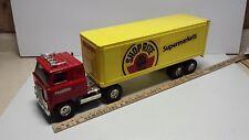 Toy ERTL International Transtar Shop Rite Semi Truck
