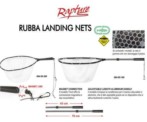 Rapture Rubba Landing Net banksticks Trout Magnetic Attack and Telescopic RNR