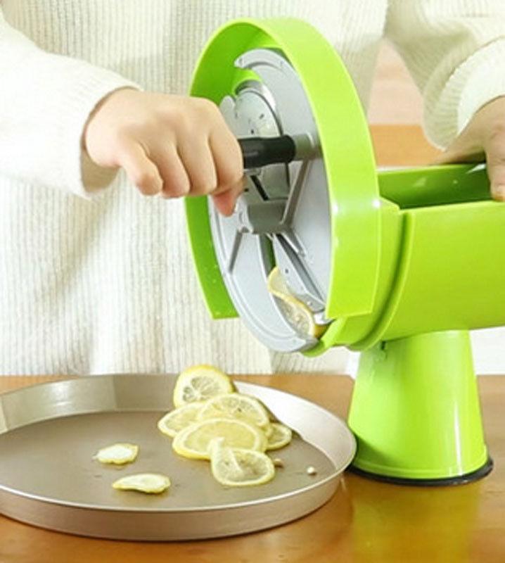 Lemon Pomme De Terre tranchage Cutter Légumes Salade de fruits et légumes trancheuse