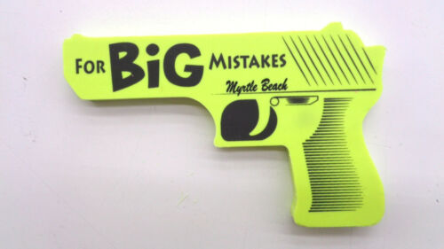 For Big Mistakes Gun Shaped Eraser Office Supplies Multi Colors