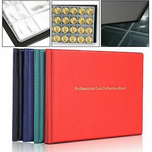 240-Album-Coin-Penny-Money-Storage-Book-Case-Holder-Folder-Collection-Collecting