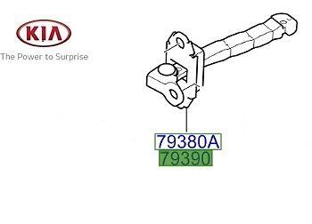 Exterior Car Door Locks Genuine Kia Rio 2011-2016 Door Check Strap ...