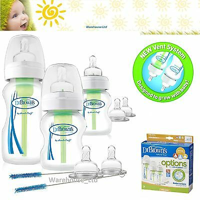Anti-colic Deluxe Starter Kit Dr Browns Options