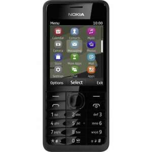 Details about Nokia 301(Unlocked) Black Cell Phone O2 T-Mobile Bluetooth  3 2MP Mobile Phone