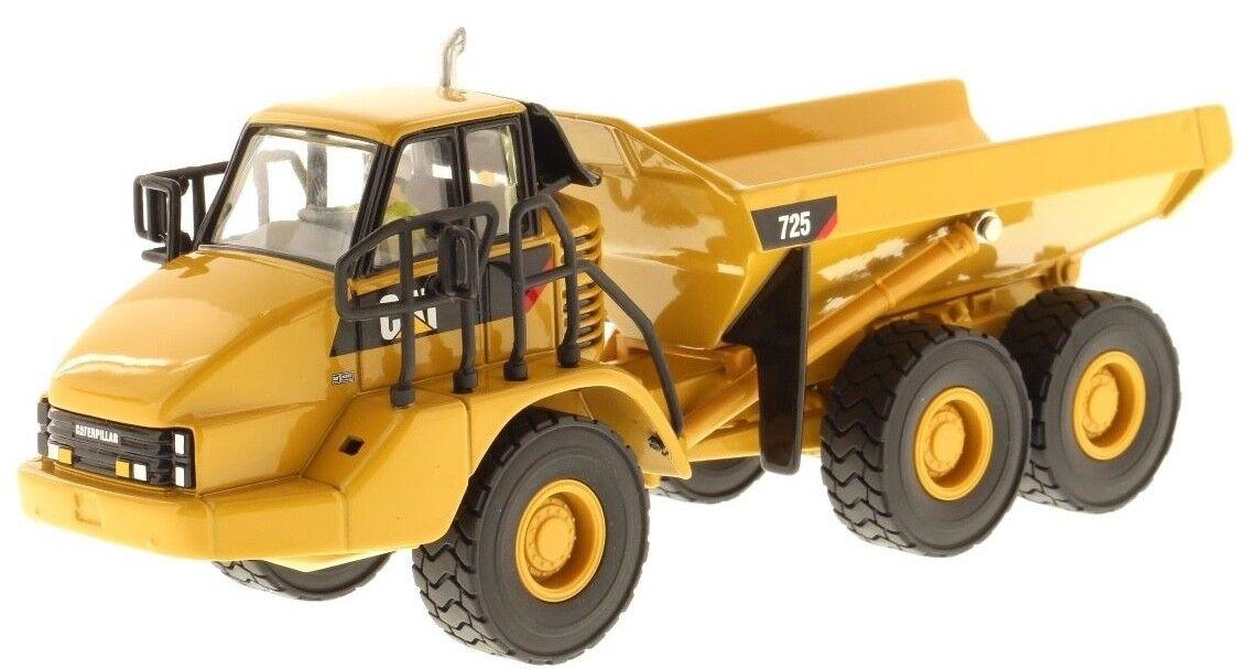 Venta al por mayor barato y de alta calidad. Caterpillar CAT 725 ® escala 1 50 50 50 Diecast-camiones articulados Masters 85073  gran venta