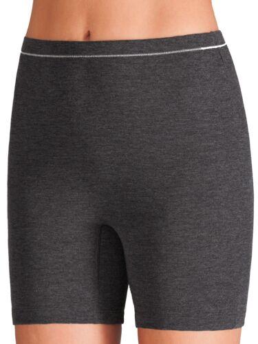Damen Lange Unterhose von Pompadour 8285-042-P Gr 38-50 in Grau Wärmewäsche