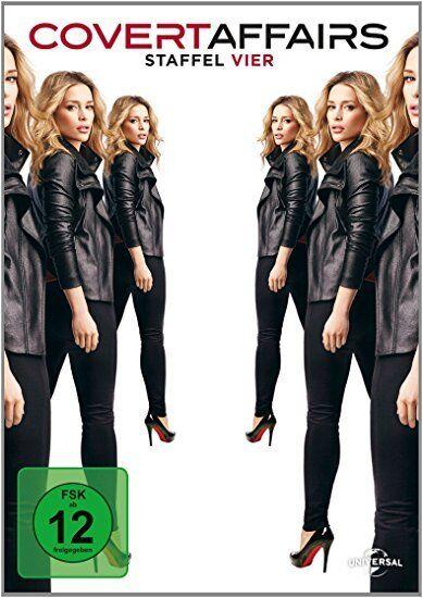 4 DVD-Box ° Covert Affairs - Staffel 4 ° NEU & OVP