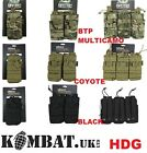 ARMY MOLLE AMMO MAG POUCH TACTICAL KOMBAT BTP MTP BLACK COYOTE SGL DOUBLE TRIPLE
