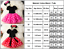 Kids-Baby-Girls-Minnie-Mouse-Polka-Dots-Outfit-Costume-Cosplay-Tutu-Dress thumbnail 3