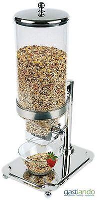 Buffet Spender Für Müsli Cerealien Frühstücksflocken 8,0 L Behälter Gastlando
