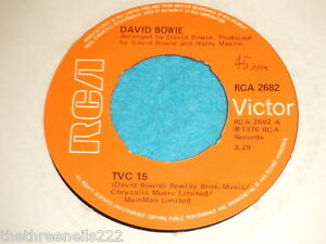 VINYL-7-SINGLE-DAVID-BOWIE-TVC-15-RCA-2682
