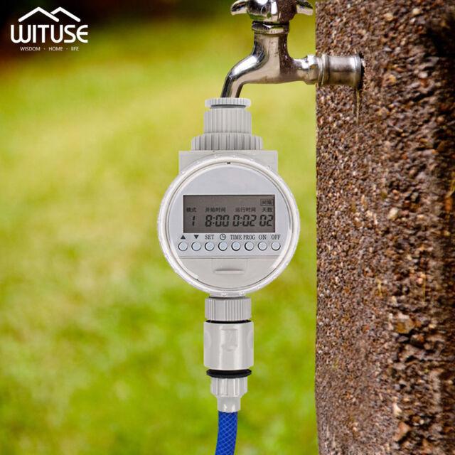 Drip Irrigation Timer Controller LCD Automatique Jardin Arrosage Système d'arrosage automatique