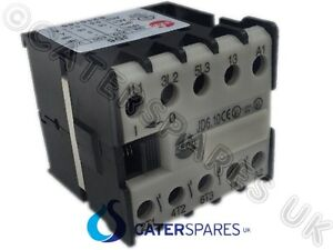 Universal Mini Relay Contactor 230v Coil 3xn/o 1xn/o Auxillary 16a Rated Fryers Colours Are Striking Business & Industrial