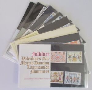 1981-Royal-Mail-Commemorative-Presentation-Packs-Sold-separately-amp-as-year-set