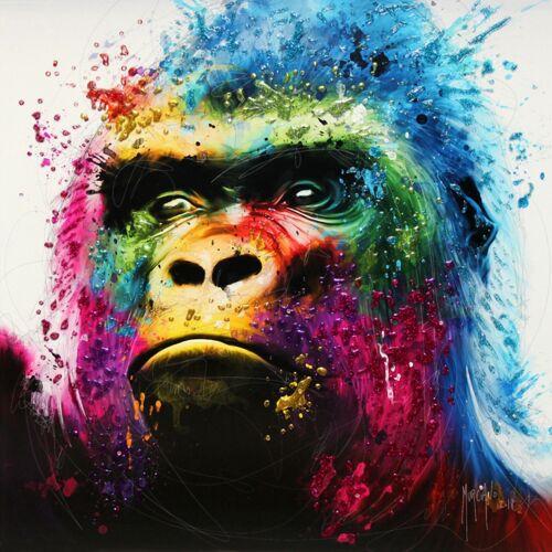Gorilla da Patrice MURCIANO PORTACHIAVI TAZZE-Stampa artistica