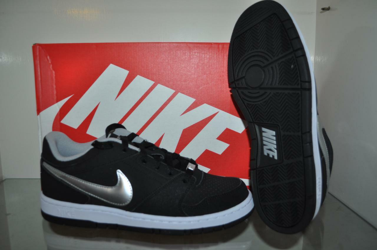 Nike Prestige IV Mens Skate NIB Shoes 488428 099 Black/Silver NIB Skate See Sizes fe0dcf